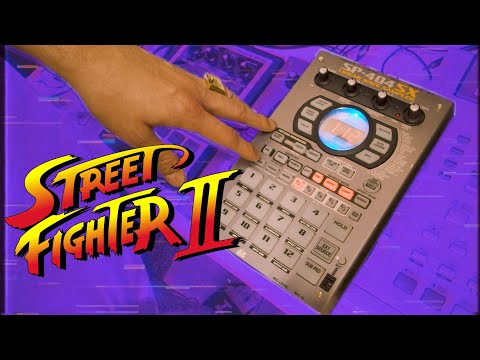 Making a Hip-Hop beat with videogame samples