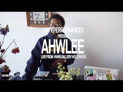 Ahwlee Live Set at HVW8 Gallery, Artist Run TV (ARTV)