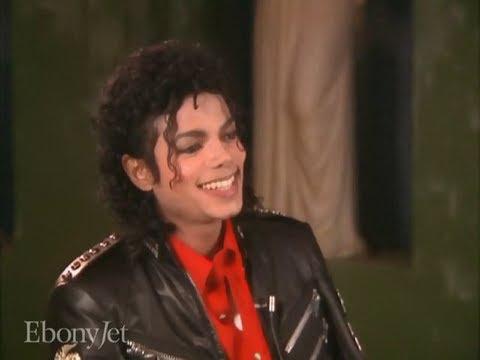 Michael Jackson - Ebony Jet interview 1987