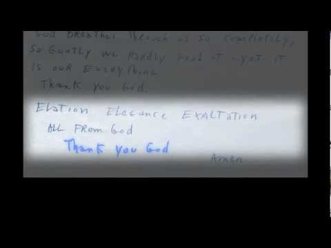 A Love Supreme: 4th Movement - Psalm - In John Coltrane's words.