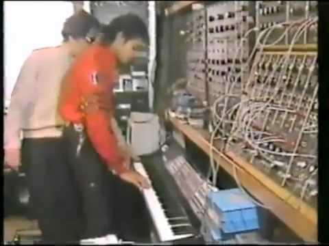 Michael Jackson Playing the Keyboard