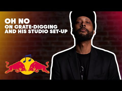 Oh No on Crate-digging and his Studio set-up | Red Bull Music Academy