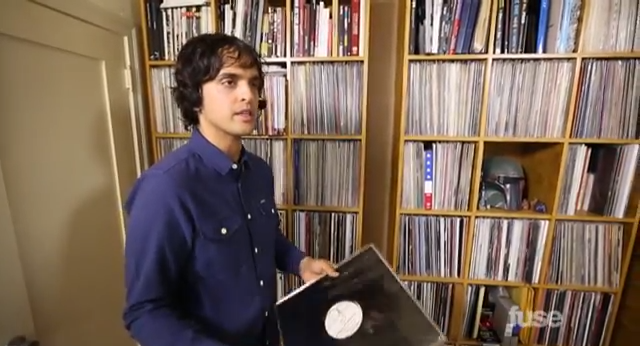 egon's record collection on crate diggers