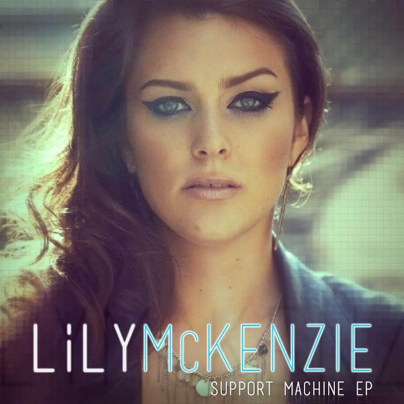 Lily McKenzie- Support Machine EP Packshot