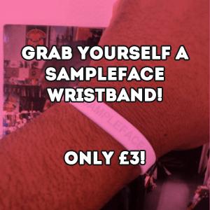 Sampleface Wristband