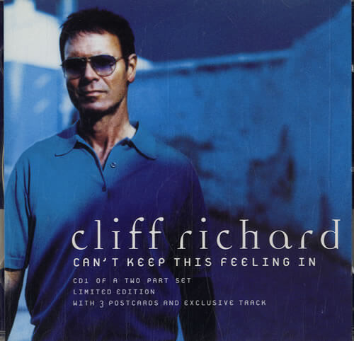 Cliff Richard - Can't Keep This Feeling In
