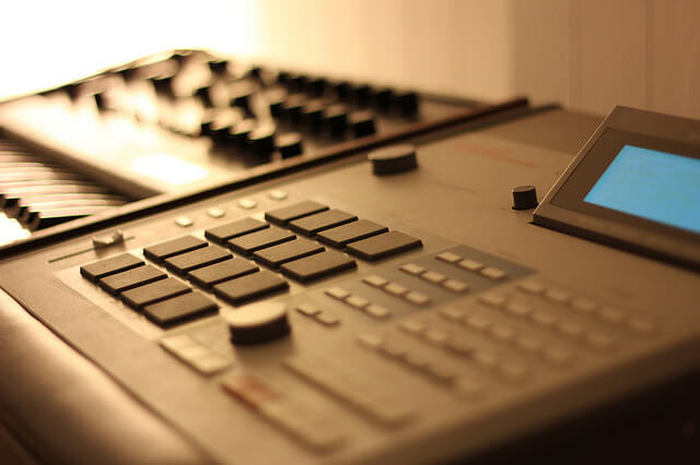 The MPC 60 - the sampling king of the early 90s