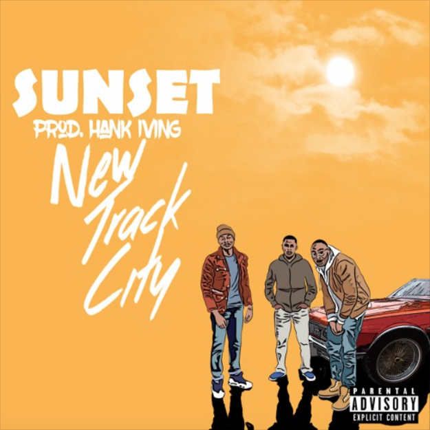 New Track City - Sunset