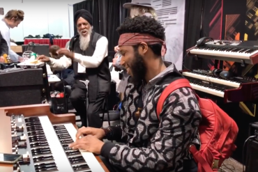 Cory Henry Playing the Hammond XK5