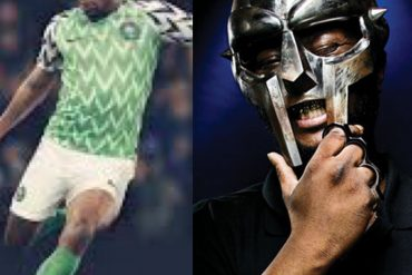 Nigeria and MF DOOM as Musa Okwonga compared