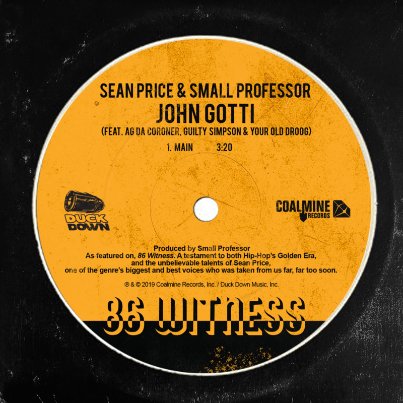 Sean Price & Small Professor - John Gotti (feat. AG Da Coroner, Guilty Simpson & Your Old Droog)